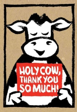 Holy Cow: Thank You So Much! (Thank-you Cards) (Cards)