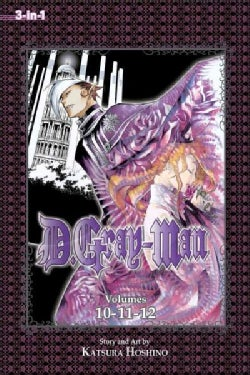 D.Gray-Man 4: 3-in-1 Edition (Paperback)