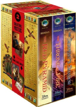 The Kane Chronicles: The Serpent's Shadow / the Throne Fire / the Red Pyramid