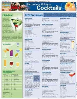 Bartender's Guide to Cocktails Quick Reference Guide (Cards)