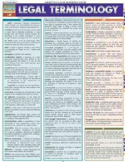 Legal Terminology Quick Reference Guide (Cards)