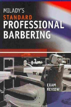 Milady's Standard Professional Barbering: Exam Review (Paperback)