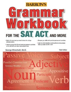 Grammar for the SAT, ACT, and More (Paperback)