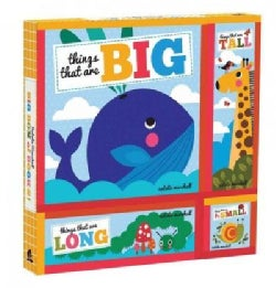 Big Box of Books!: Things that are Big, Things that are Tall, Things that are Small , Things that are Long (Board book)