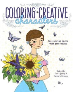 Coloring Creative Characters: Fun Coloring Pages With Personality (Paperback)