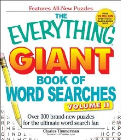 The Everything Giant Book of Word Searches: Over 300 Brand-new Puzzles for the Ultimate Word Search Fan (Paperback)