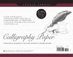 Studio Series Calligraphy Paper Pad: 50 Sheets (Notebook / blank book)