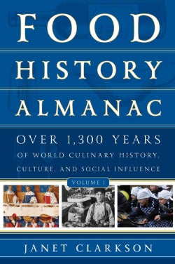 Food History Almanac: Over 1,300 Years of World Culinary History, Culture, and Social Influence (Hardcover)