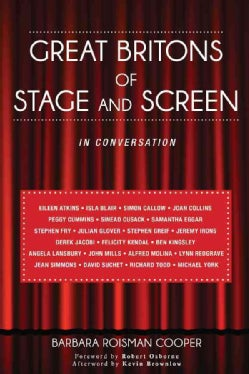 Great Britons of Stage and Screen: In Conversation (Hardcover)
