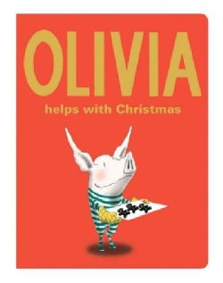 Olivia Helps With Christmas (Board book)