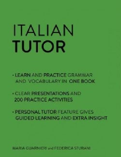 Italian Tutor: Grammar and Vocabulary Workbook (Paperback)