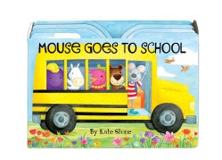 Mouse Goes to School (Board book)
