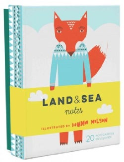 Land & Sea Notes (Cards)