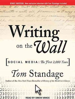 Writing on the Wall: Social Media - the First 2,000 Years (CD-Audio)