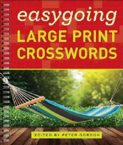 Easygoing Large Print Crosswords (Paperback)