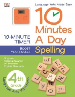 10 Minutes a Day Spelling, 4th Grade (Paperback)