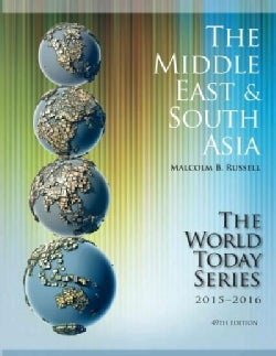 The Middle East & South Asia 2015-2016 (Paperback)