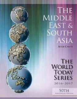 The Middle East and South Asia 2016-2017 (Paperback)