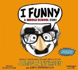 I Funny: A Middle School Story: Includes Pdf (CD-Audio)