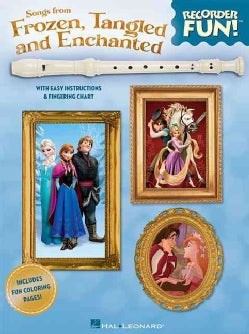 Songs from Frozen, Tangled and Enchanted (Paperback)