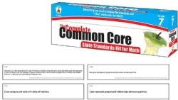 The Complete Common Core State Standards Kit for Math, Grade 7 (Cards)