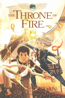 The Throne of Fire: The Graphic Novel (Paperback)