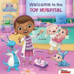 Doc Mcstuffins Welcome to the Toy Hospital (Board book)