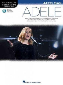 Adele: Alto Sax, With Downloadable Audio (Paperback)