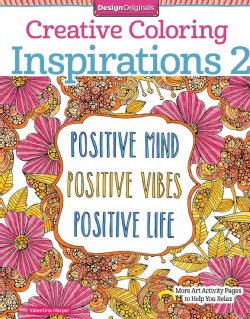 A Second Cup of Inspirations: More Art Activity Pages to Help You Relax (Paperback)