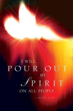 I Will Pour Out My Spirit Pentecost Bulletin 2016: Pkg of 50 (Loose-leaf)