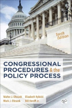 Congressional Procedures and the Policy Process (Paperback)