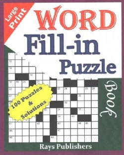Word Fill-in Puzzle Book (Paperback)