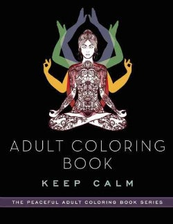 Adult Coloring Book Keep Calm (Paperback)