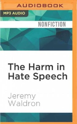 The Harm in Hate Speech (CD-Audio)