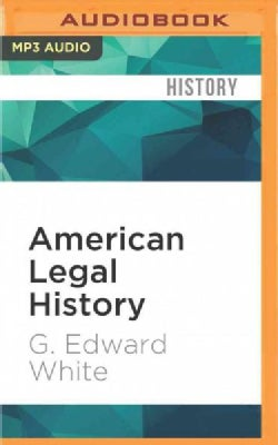 American Legal History (CD-Audio)
