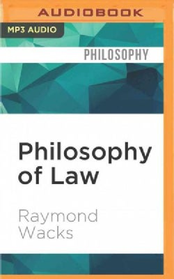 Philosophy of Law (CD-Audio)