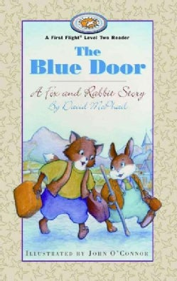 The Blue Door: A Fox and Rabbit Story (Paperback)
