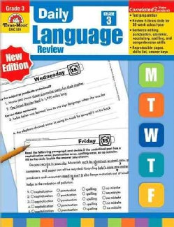 Daily Language Review Grade 3 (Paperback)