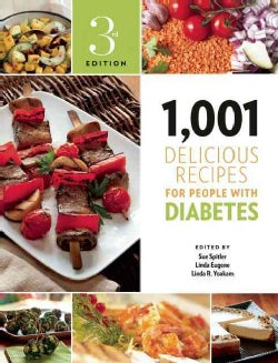 1,001 Delicious Recipes for People With Diabetes (Paperback)