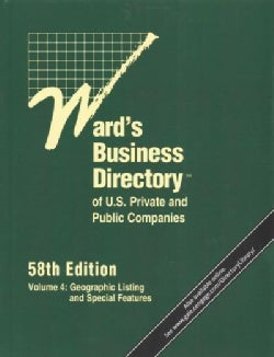 Wards Business Directory of U.S. Private and Public Companies (Hardcover)