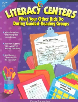 Literacy Centers Grades 3-5: What Your Other Kids Do During Guided-Reading Groups (Paperback)