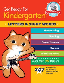 Get Ready for Kindergarten: Letters & Sight Words (Paperback)