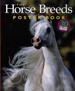 The Horse Breeds Poster Book (Paperback)