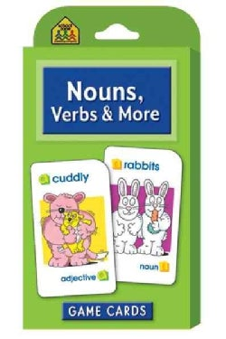 Nouns, Verbs And More: Game Cards (Cards)
