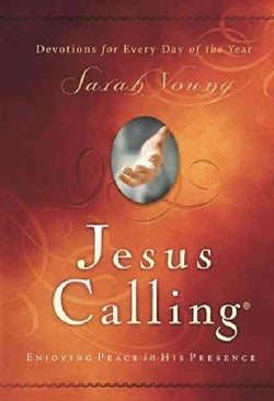 Jesus Calling: Enjoying Peace In His Presence-Devotions For Every Day Of The Year (Hardcover)