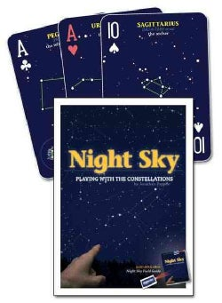 Night Sky Playing Cards: Playing With the Constellations (Cards)