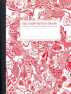 Wild Garden: Decomposition Book: College-ruled Composition Notebook With 100% Post-consumer-waste Rec... (Notebook / blank book)