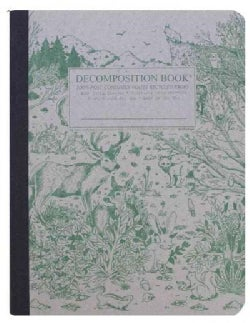 Spirit Animal Decomposition Book: College-ruled Composition Notebook With 100% Post-consumer-waste Re... (Notebook / blank book)