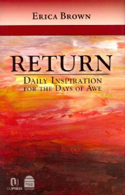 Return: Daily Inspiration for the Days of Awe (Hardcover)