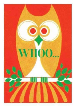 Whoo! Owl Birthday Card (Cards)